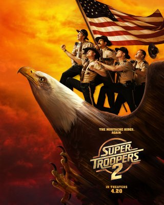 Super Troopers 2 (2018) streaming VF